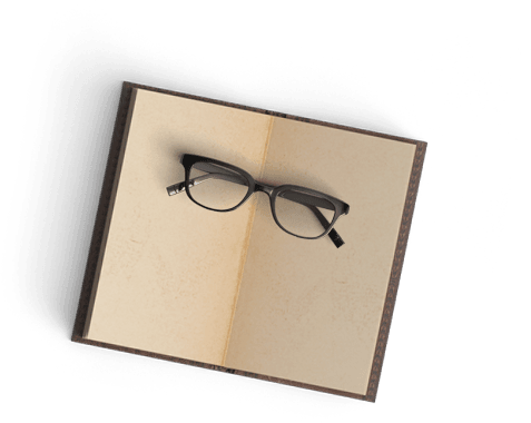 libro gafas hambre